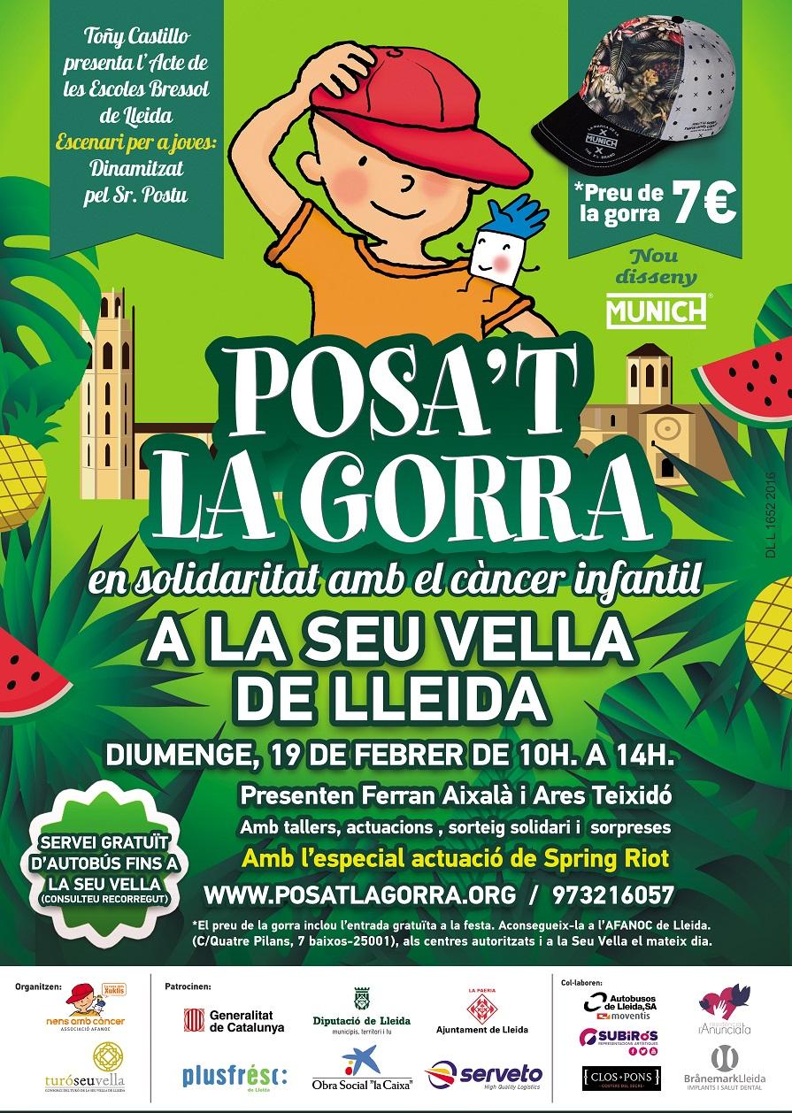 La festa Posa t la Gorra a la Seu Vella de Lleida arriba a la seva ... 4137fa8b6f4