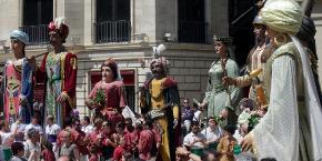 Prop de 35 gegants de les comarques de Lleida participaran en la festa  Posa t la Gorra 22833cd3156